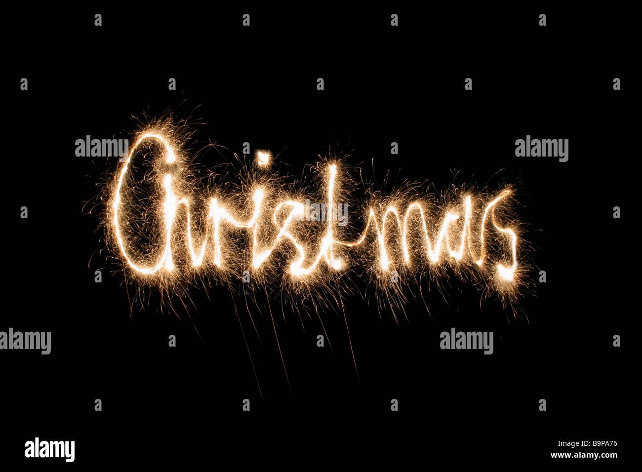 Weihnachten-Wunderkerze (Sie können andere Wörter in meinem ...