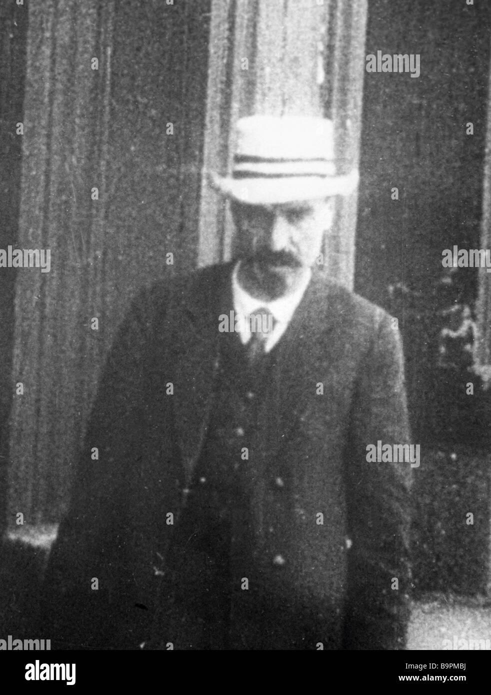 Irakly Tsereteli 1882 1959 der Führer der Menschewiki eines die ...