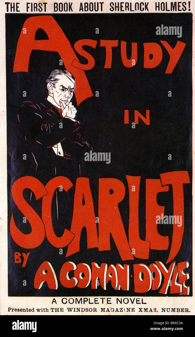 SHERLOCK HOLMES A STUDY IN SCARLET Nachdruck der ersten Holmes-Roman ...