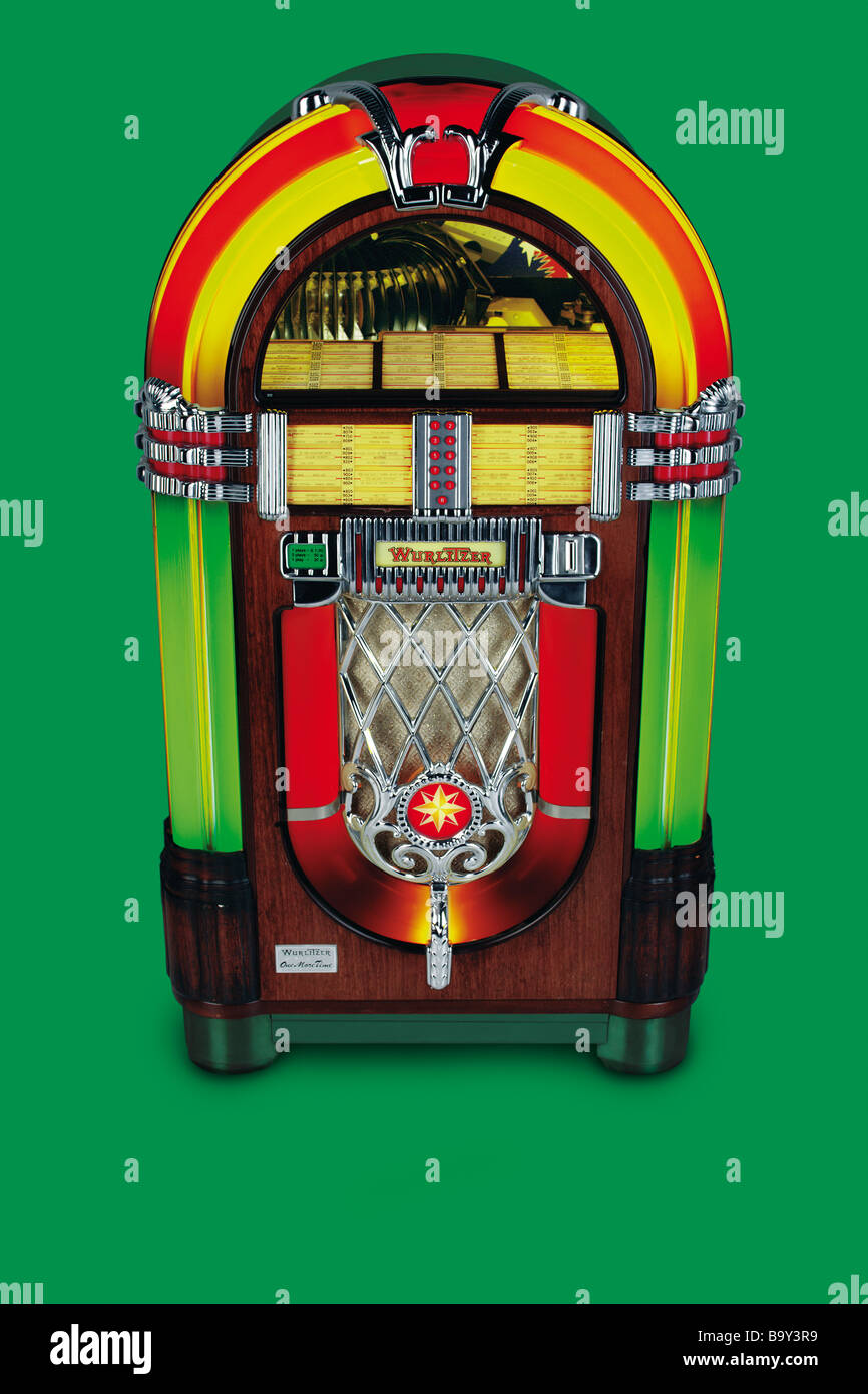 Jukebox Stockbild