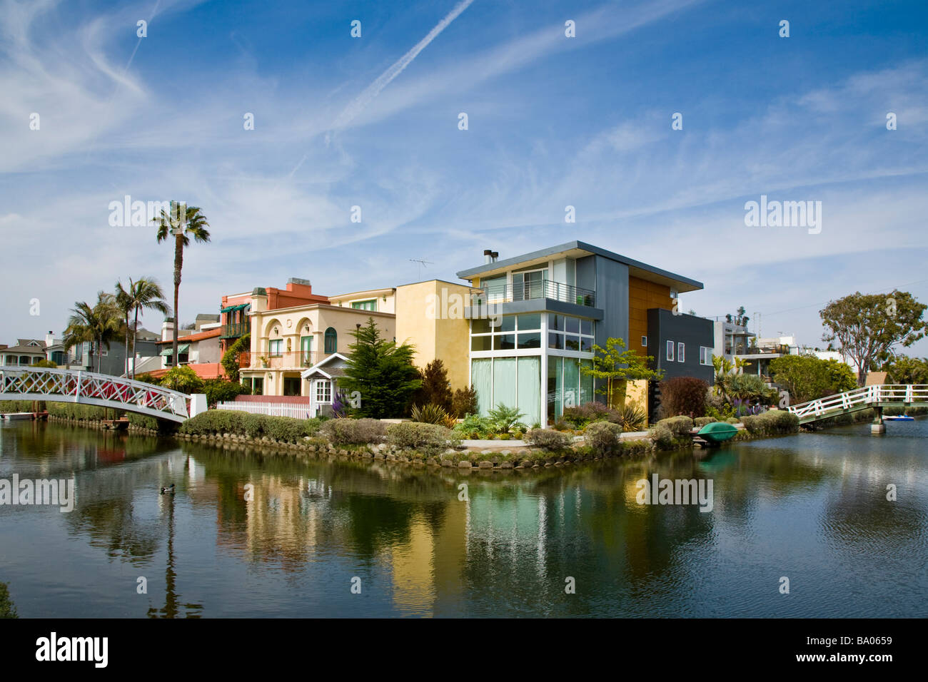 venice canals los angeles stockfotos venice canals los angeles bilder seite 2 alamy. Black Bedroom Furniture Sets. Home Design Ideas