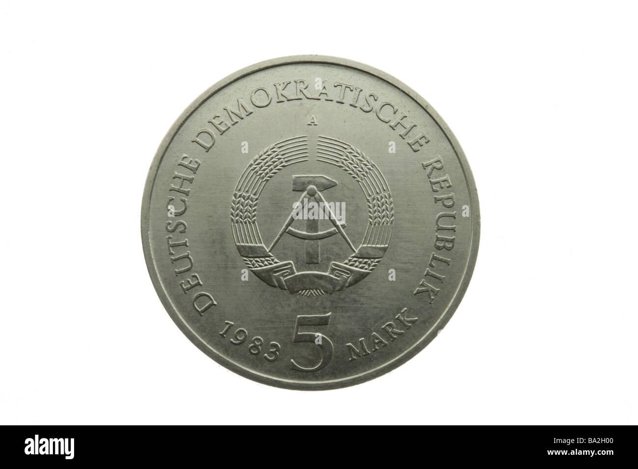 Ostdeutsche Münze Stockfotos Ostdeutsche Münze Bilder Alamy