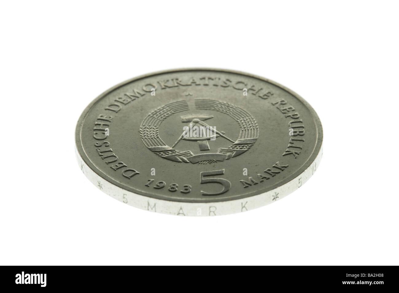 Münze 5 Mark Münze 5 Mark Münzen Deutsche Münze ändern Ddr Mark