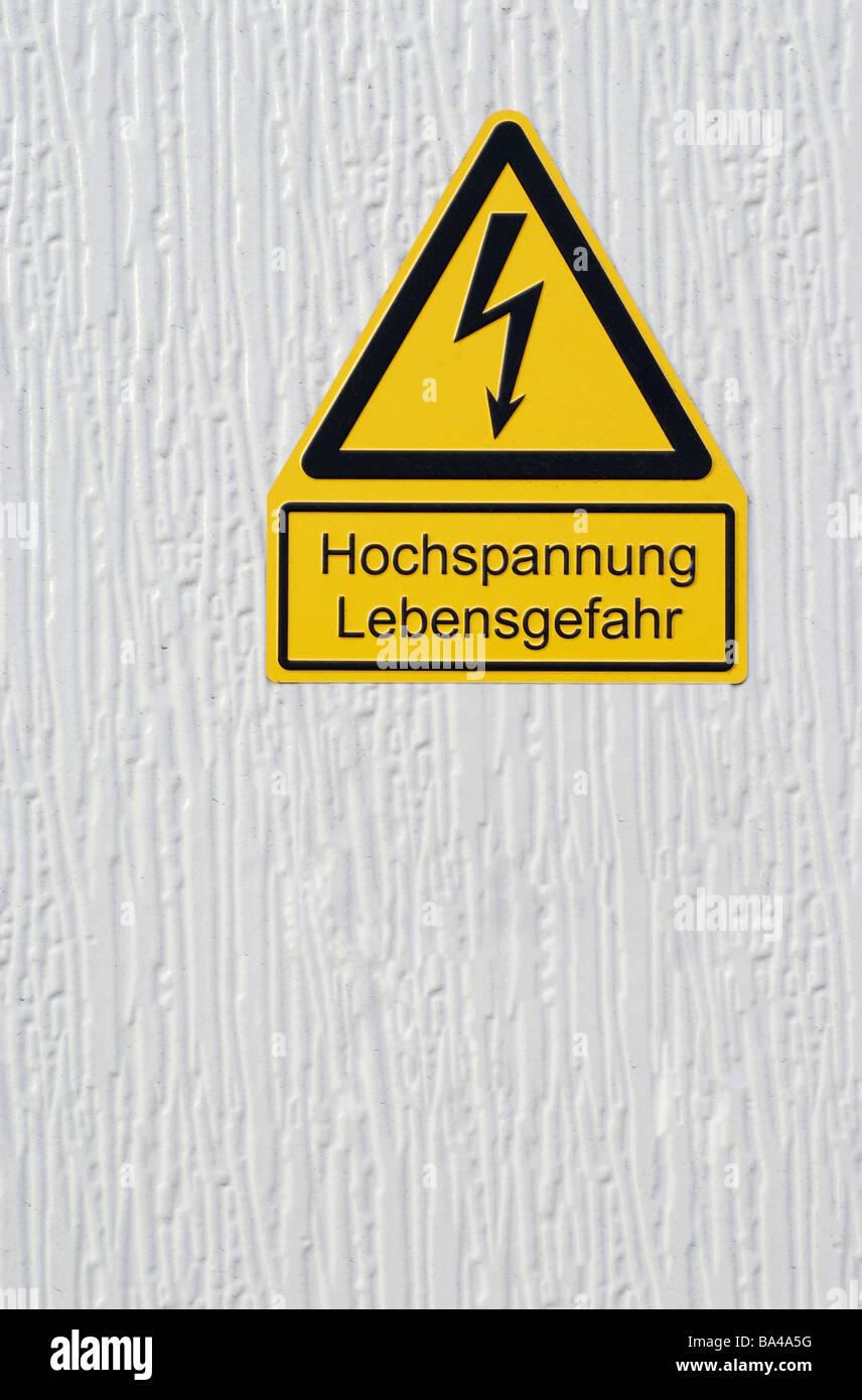 Symbol Trafostation einzelnen zeichen trafostation 04/2006 stockfoto, bild: 23452732 - alamy