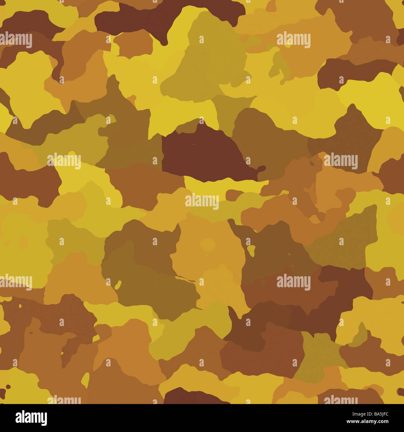 Camouflage Muster Herbst Wüste Farben Design Grafisches Tapete Textur