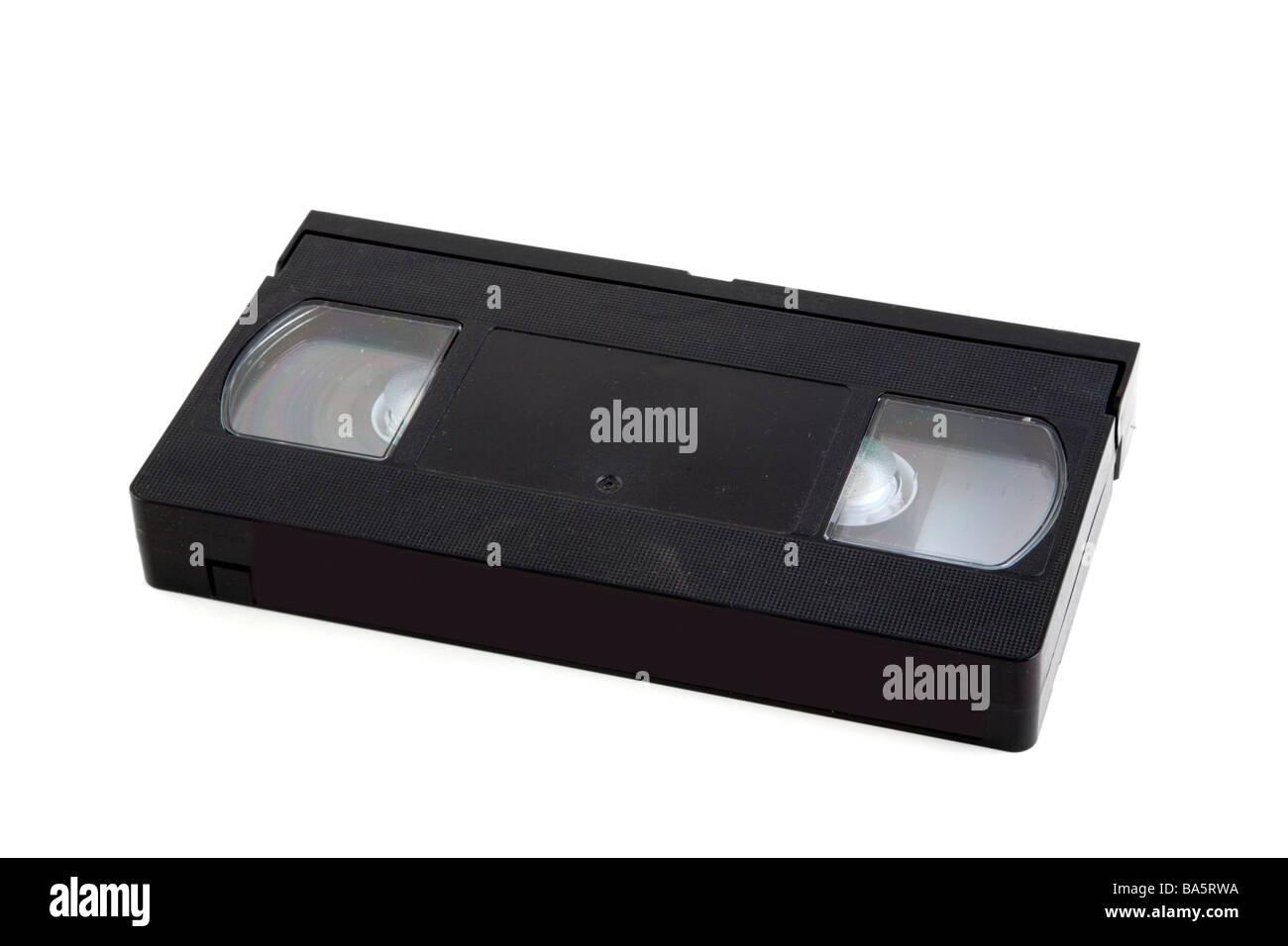 Eine VHS-Videokassette mit Logos Marken entfernt Stockbild