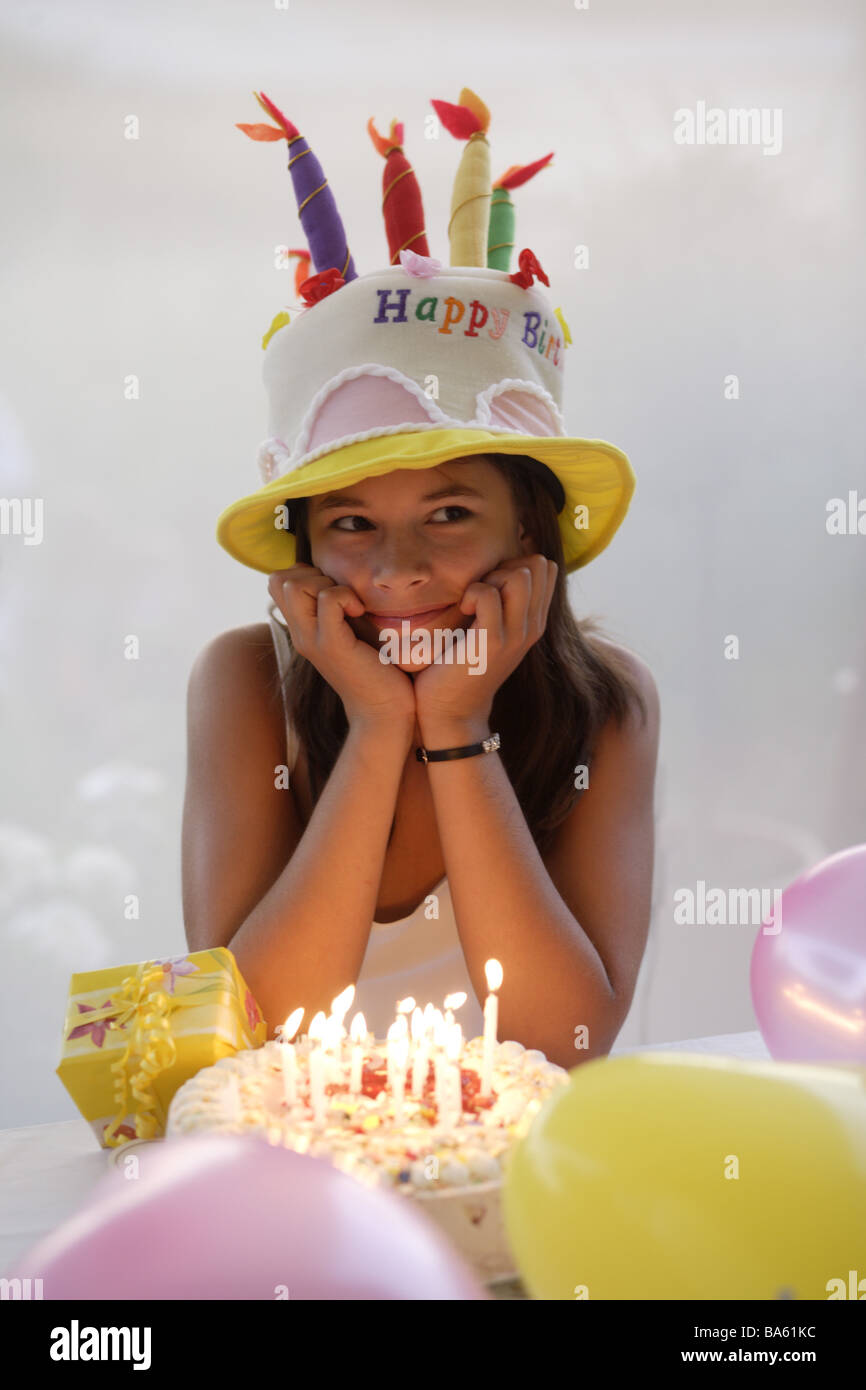 Teenager Mädchen Geburtstag Torte Kopfbedeckung Material Pie Pie