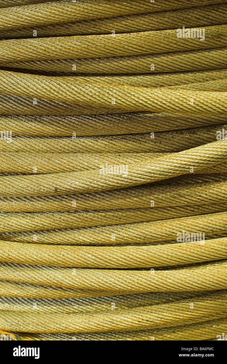 Berühmt Verrostet Korrodierten Draht Oder Seil Fotos - Elektrische ...