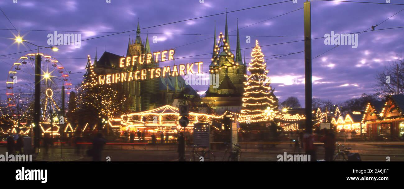 deutschland th ringen erfurt weihnachtsmarkt neon. Black Bedroom Furniture Sets. Home Design Ideas