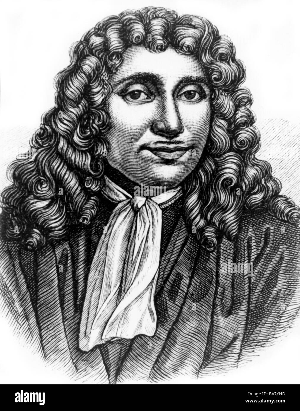 17 Jahrhundert Bild Architektur: Antonie Van Leeuwenhoek,, 24.10.1632