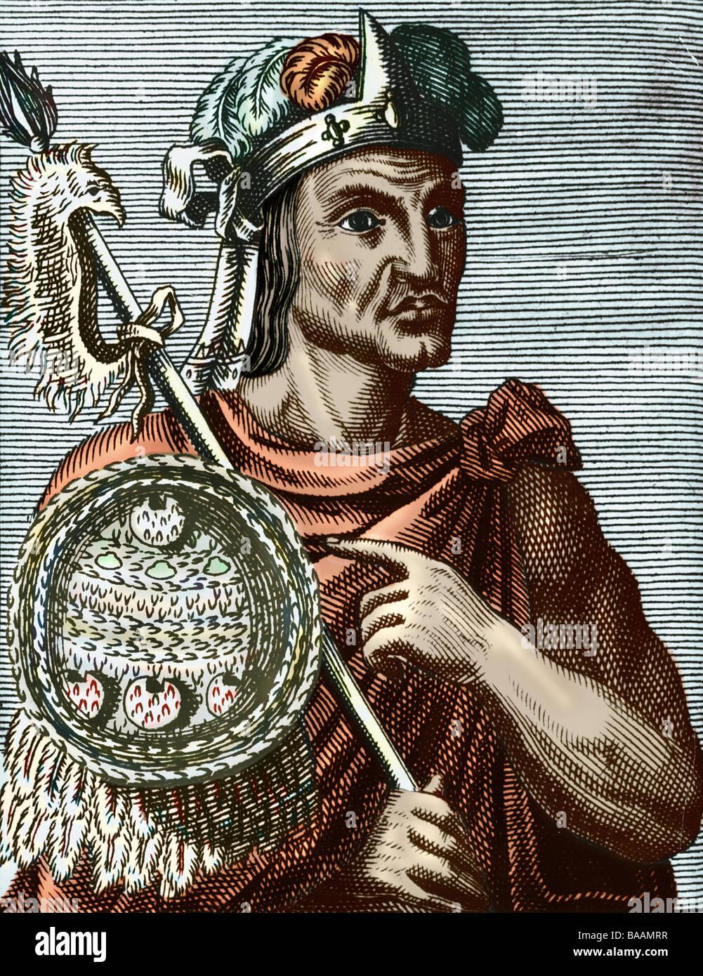 Moctezuma Ii Xocoyotzin Circa 1466 2961520 Herrscher Von