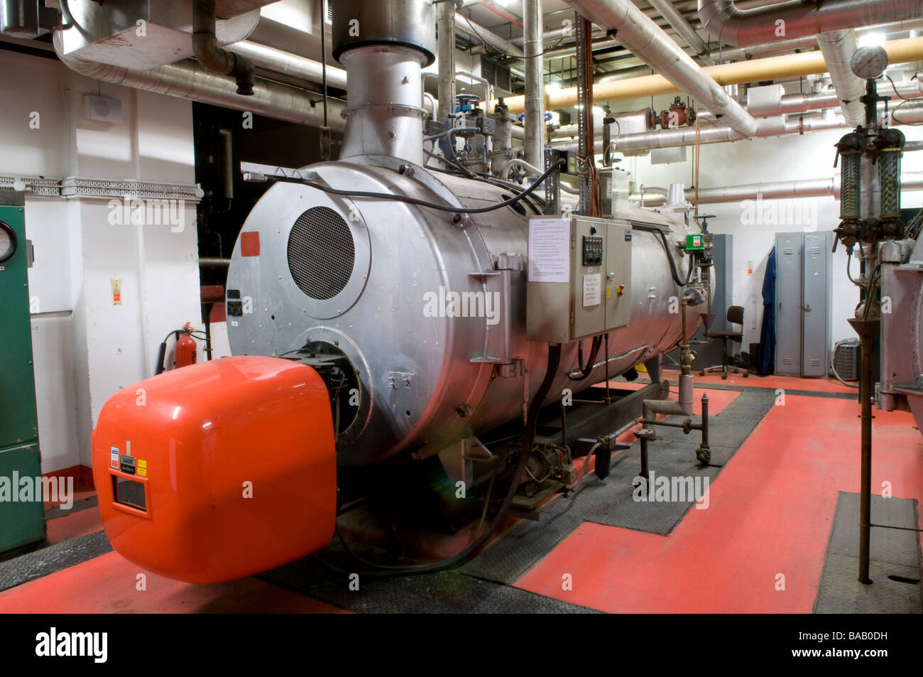 Commercial Building Boiler Stockfotos & Commercial Building Boiler ...