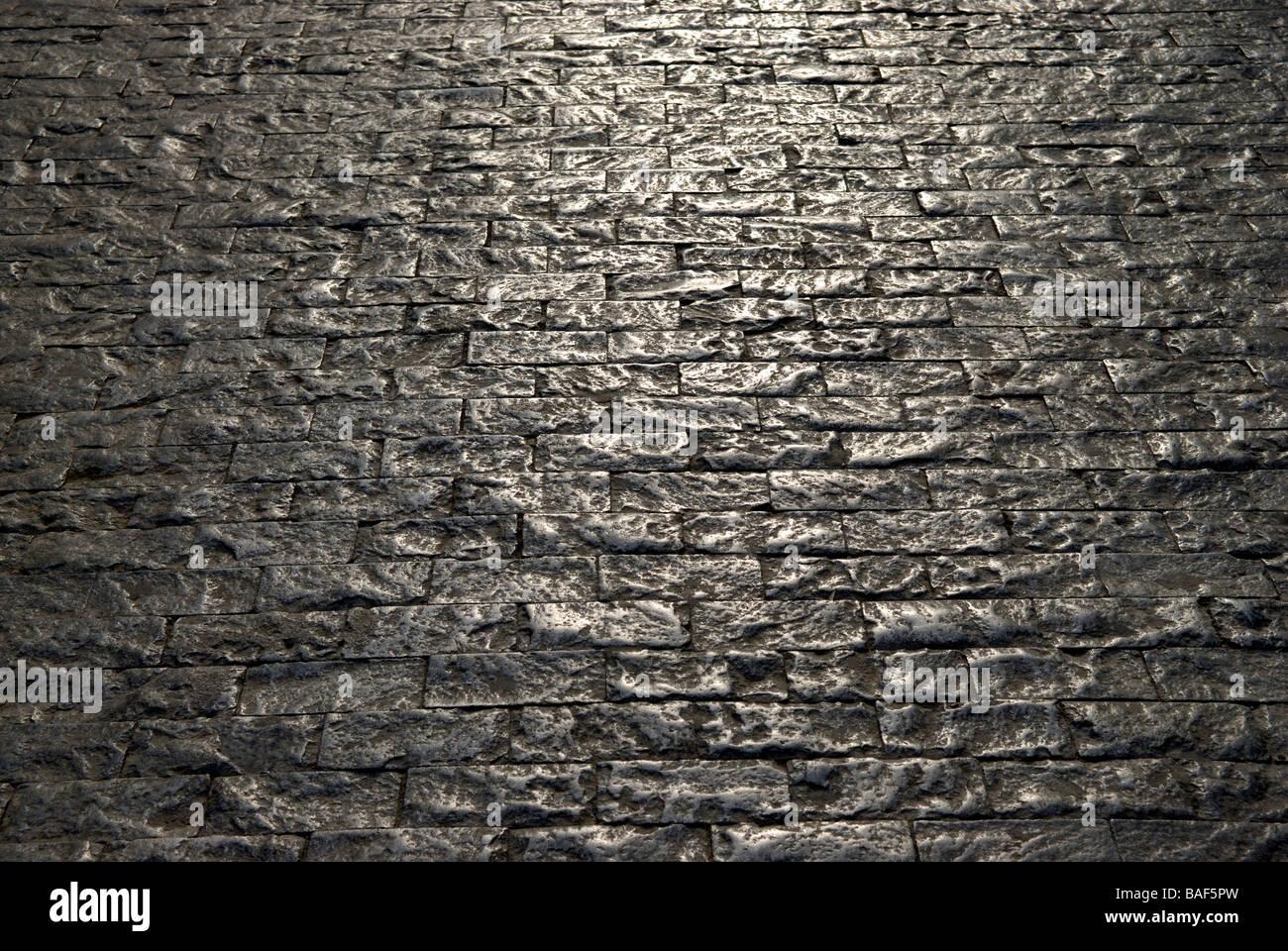 stra e mit kopfsteinpflaster stockfoto bild 23690769 alamy. Black Bedroom Furniture Sets. Home Design Ideas