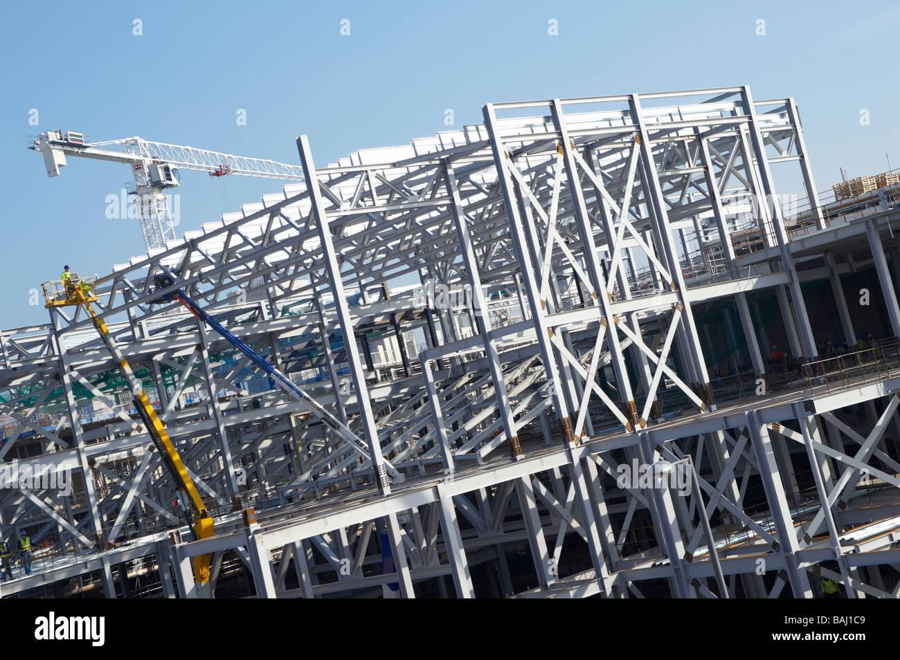 Stahlrahmenkonstruktion Stockfoto, Bild: 23753193 - Alamy