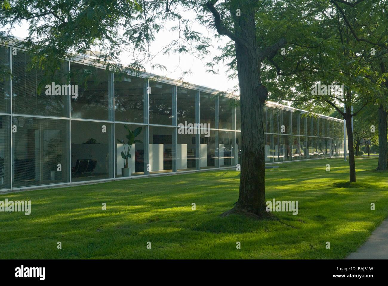 Architektur Zeitung | Columbus Indiana Architektur Der Republik Zeitung Office 1971 Von