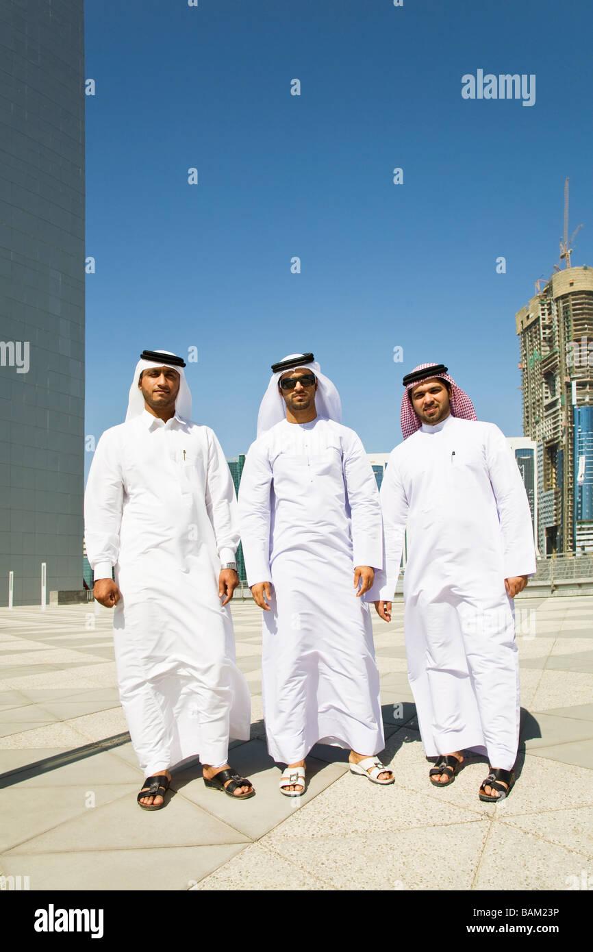 Porträt des Nahen Ostens Geschäftsleute Stockfoto