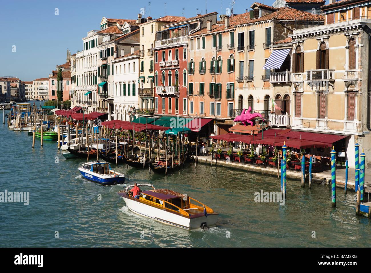 Canal grande in Venedig Stockbild
