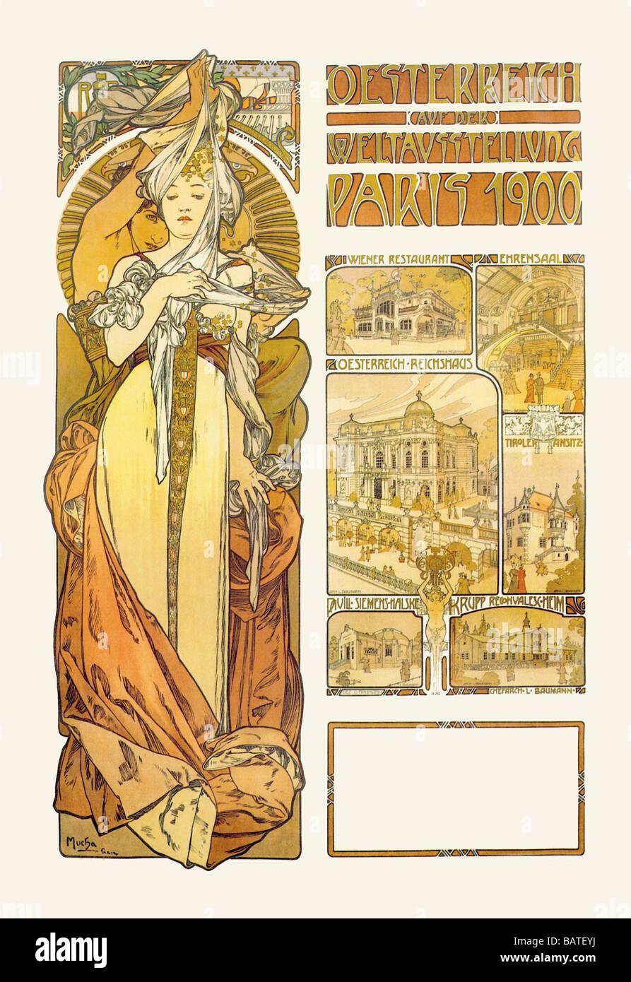 Österreich: 1900 Stockfoto