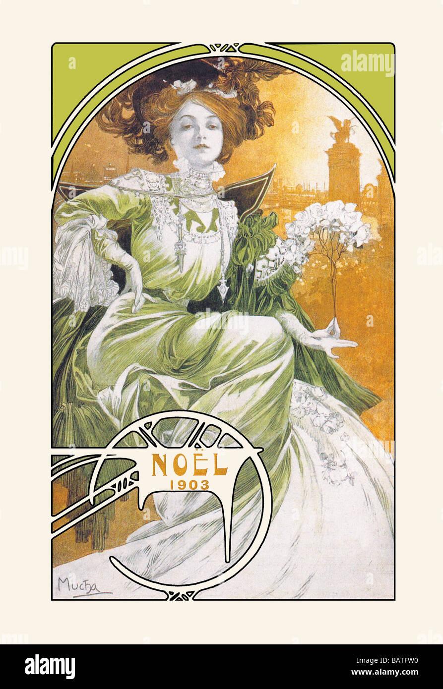 Noel 1903 Stockfoto