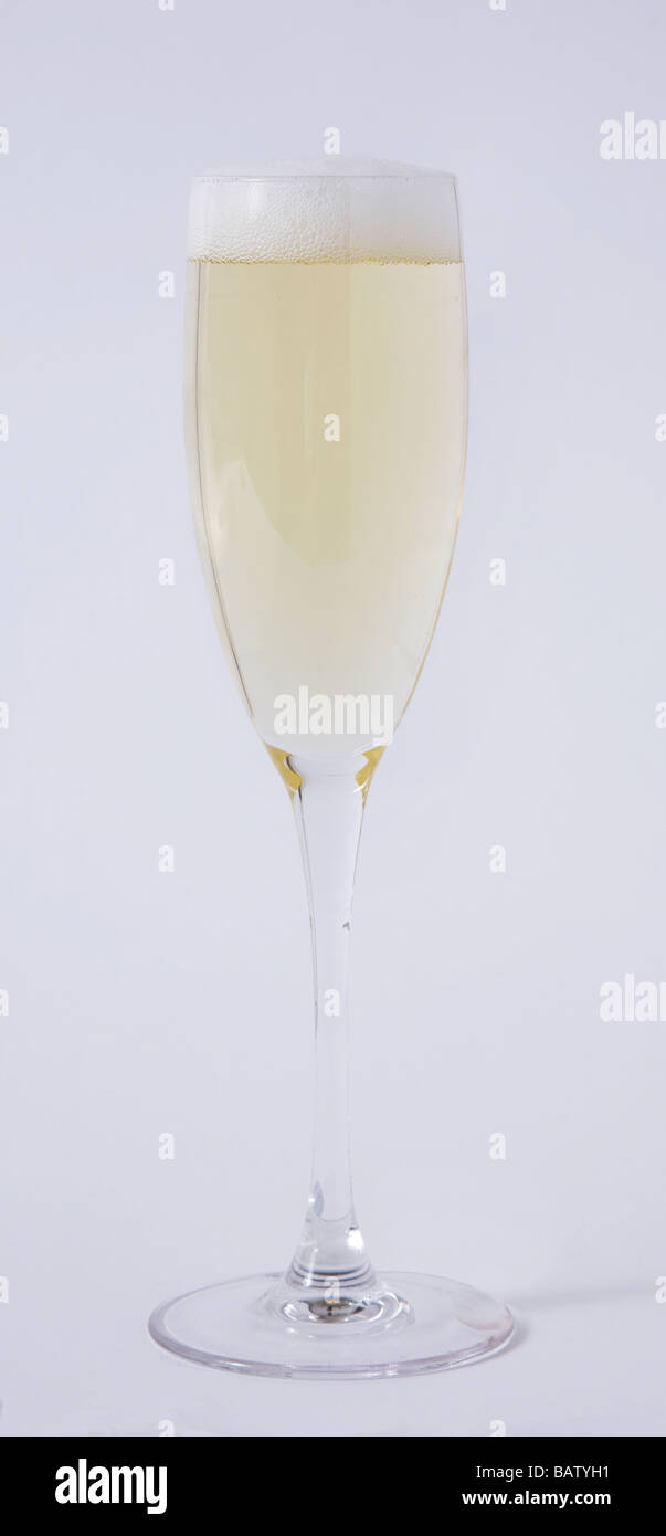 Glas Champagner Stockbild