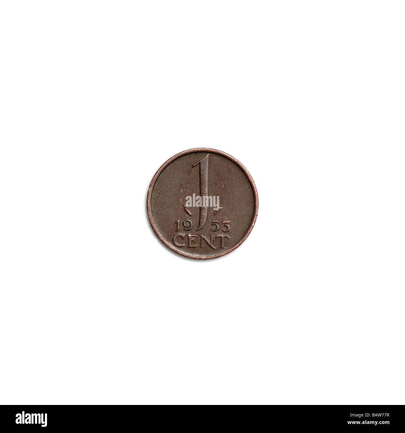 Niederländische 1 Cent Münze Stockfoto Bild 23911435 Alamy
