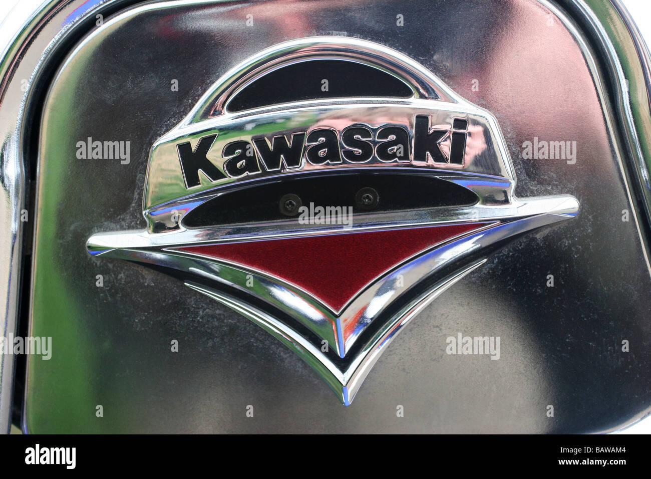 Kawasaki Motorrad Logo Stockfoto Bild 23914132