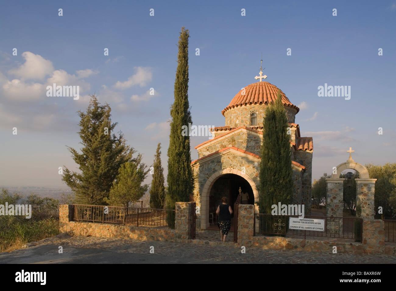 Kapelle Hügelbereich