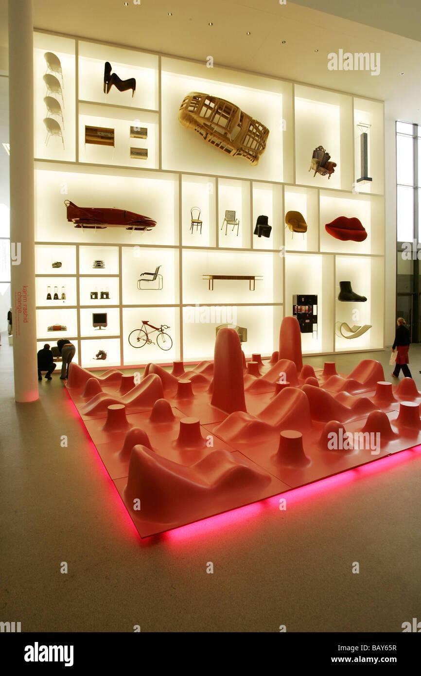Pinakothek Der Moderne Museum Design Ausstellung Munchen Bayern Deutschland Stockfotografie Alamy