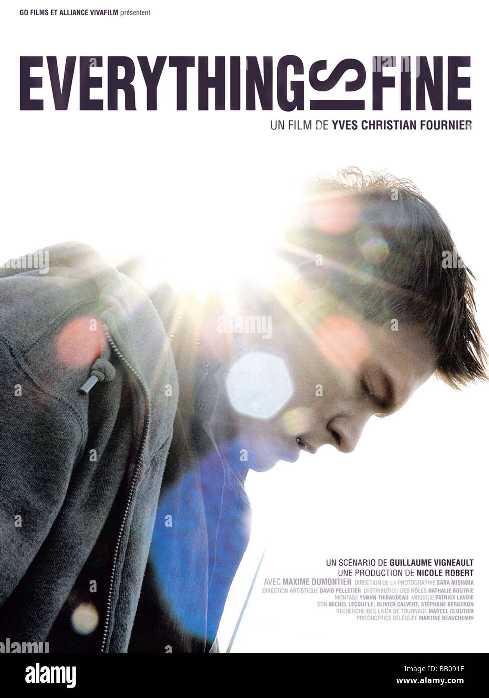 Tout est Parfait alles schönes Jahr ist: 2008 Regie: Yves-Christian Fournier Movie Poster Stockbild