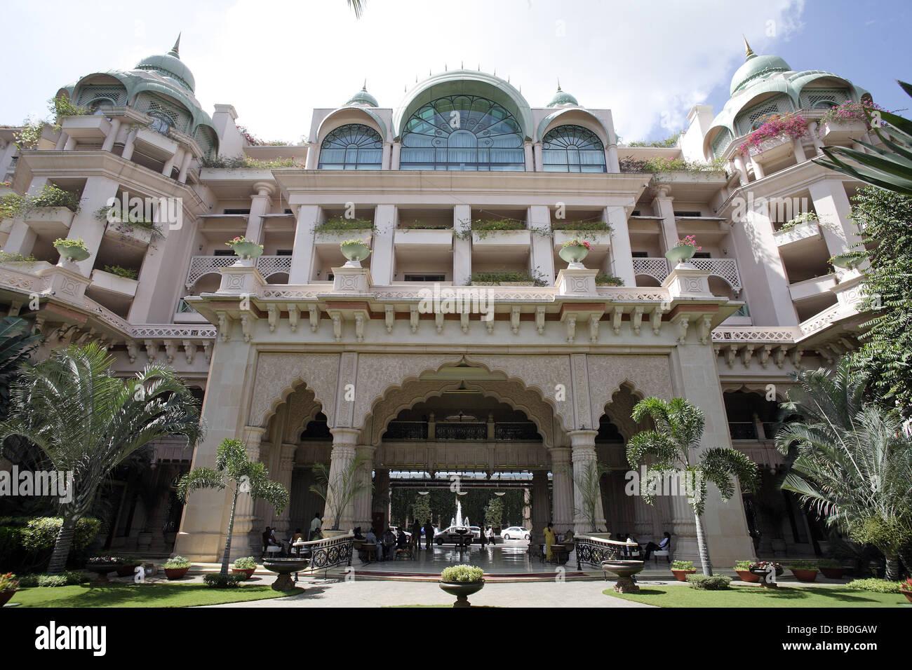 Hotel Leela Palace Kempinski Bangalore Indien Stockbild
