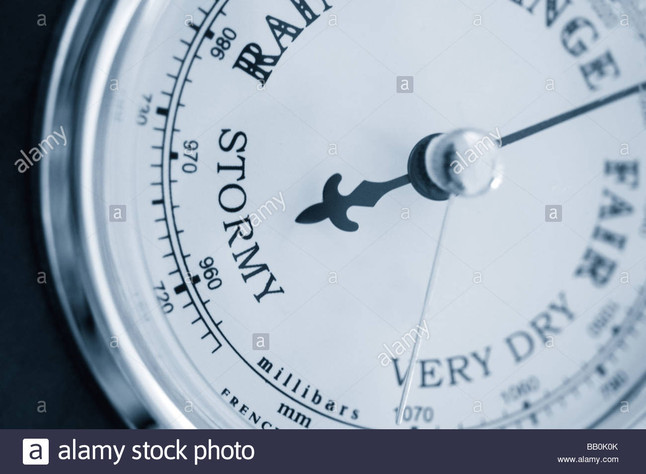 Barometer Stockbild
