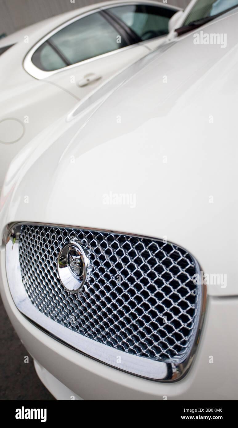 Jaguar Cars Castle Bromwich Stockbild