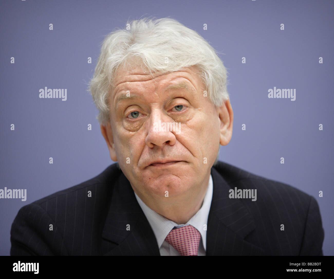 Juergen KOPPELIN Haushaltspolitischer Sprecher der FDP Bundestagsfraktion Berlin Deutschland Jürgen KOPPELIN Stockbild