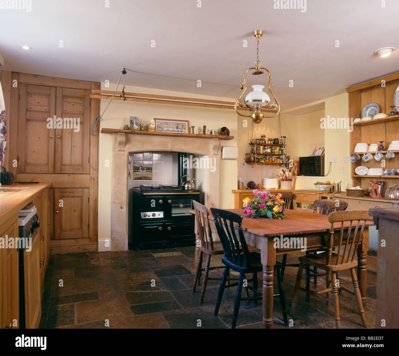 Britische Einrichtung, Küche Und Esszimmer