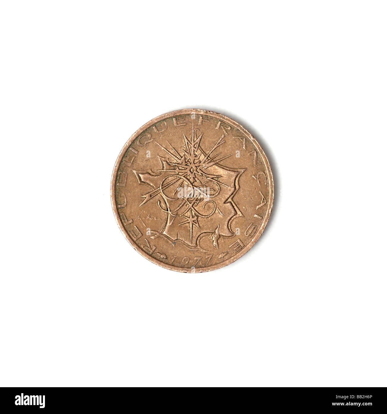 Französische Alte 10 Franken Münze Stockfoto Bild 24029006 Alamy
