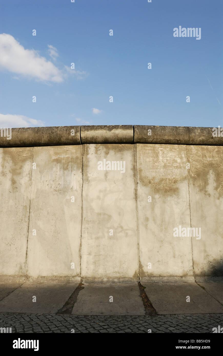 Deutschland Berlin die Gedenkstätte Berliner Mauer an der Bernauer Straße ist Bestandteil der Geschichtsmeile Berliner Stockfoto