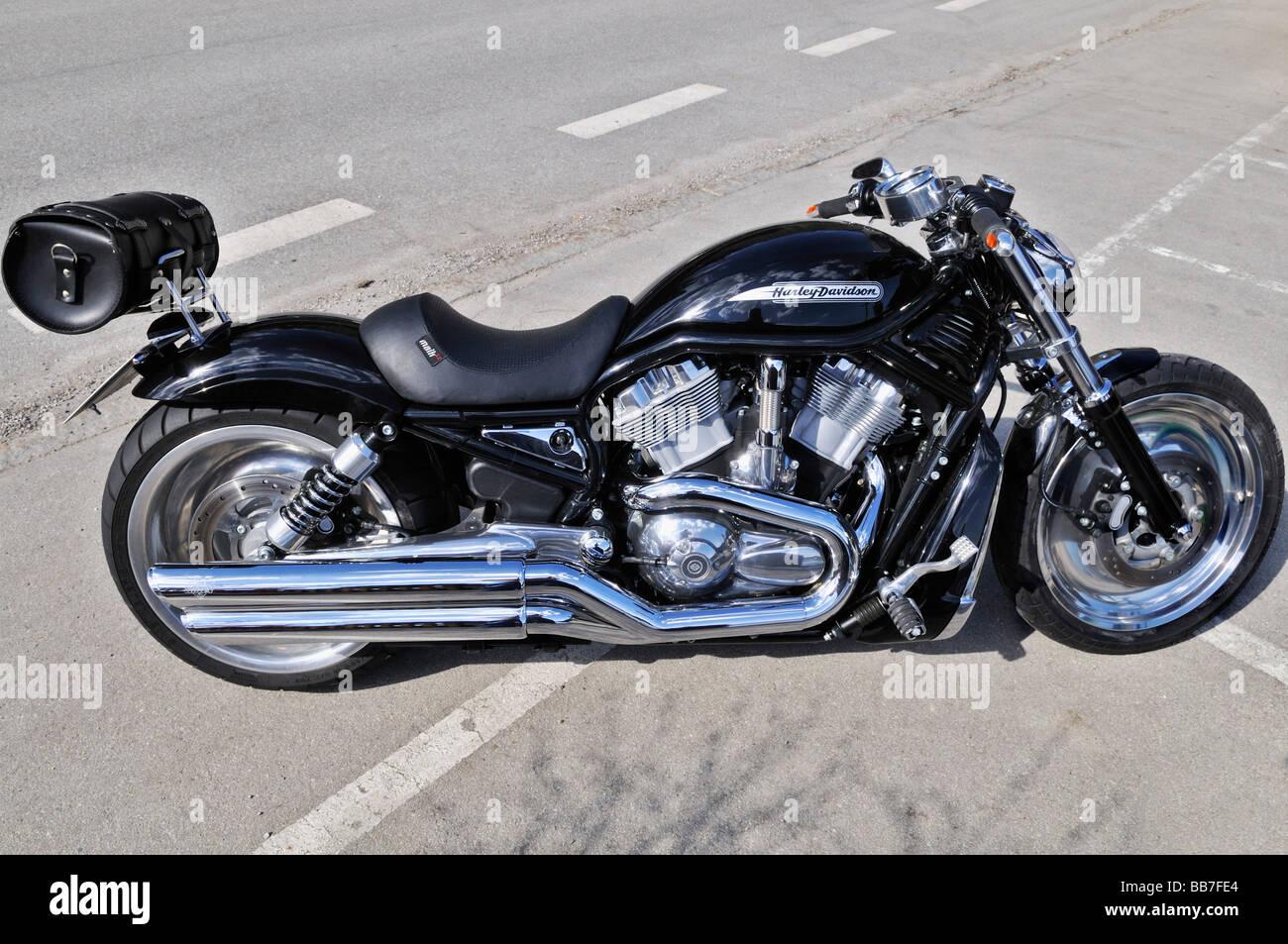harley davidson motorcycle stockfotos harley davidson. Black Bedroom Furniture Sets. Home Design Ideas