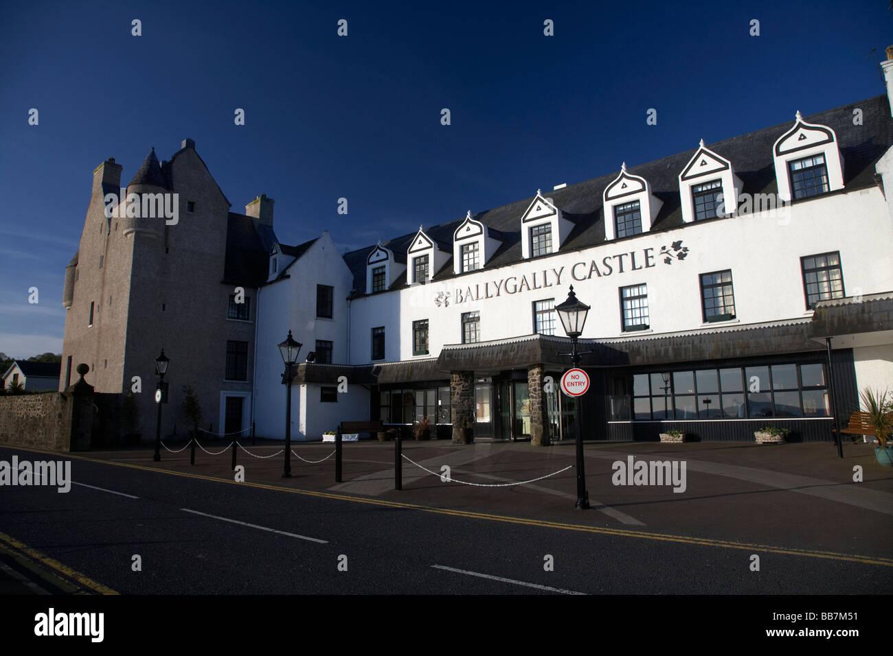 17 Jahrhundert Ballygally Castle Hotel Grafschaft Antrim Nordirland