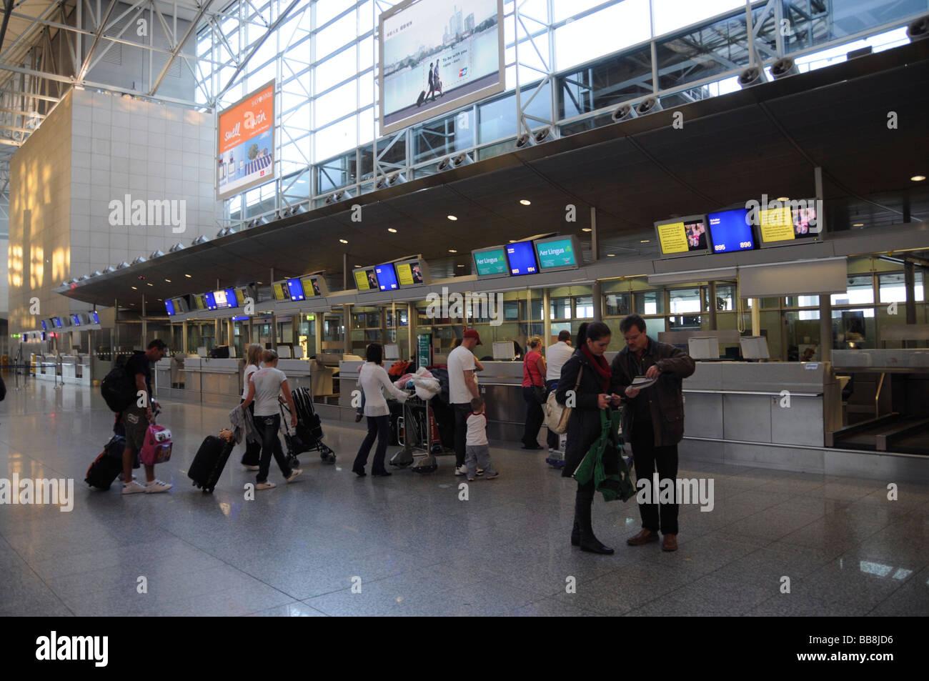 Frankfurt Flughafen Terminal 2 Abflug