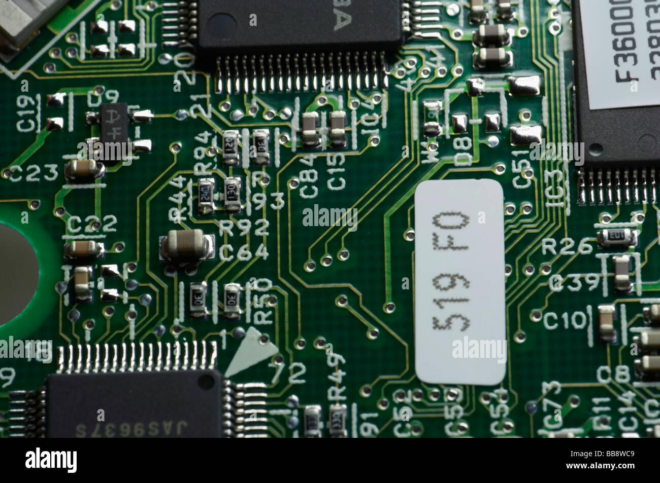 elektronische Geräte Stockbild