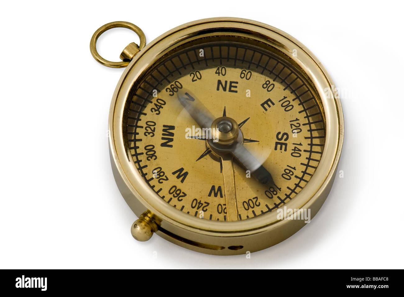 Kompass beweglichen Norden Stockfoto, Bild: 24203208 - Alamy