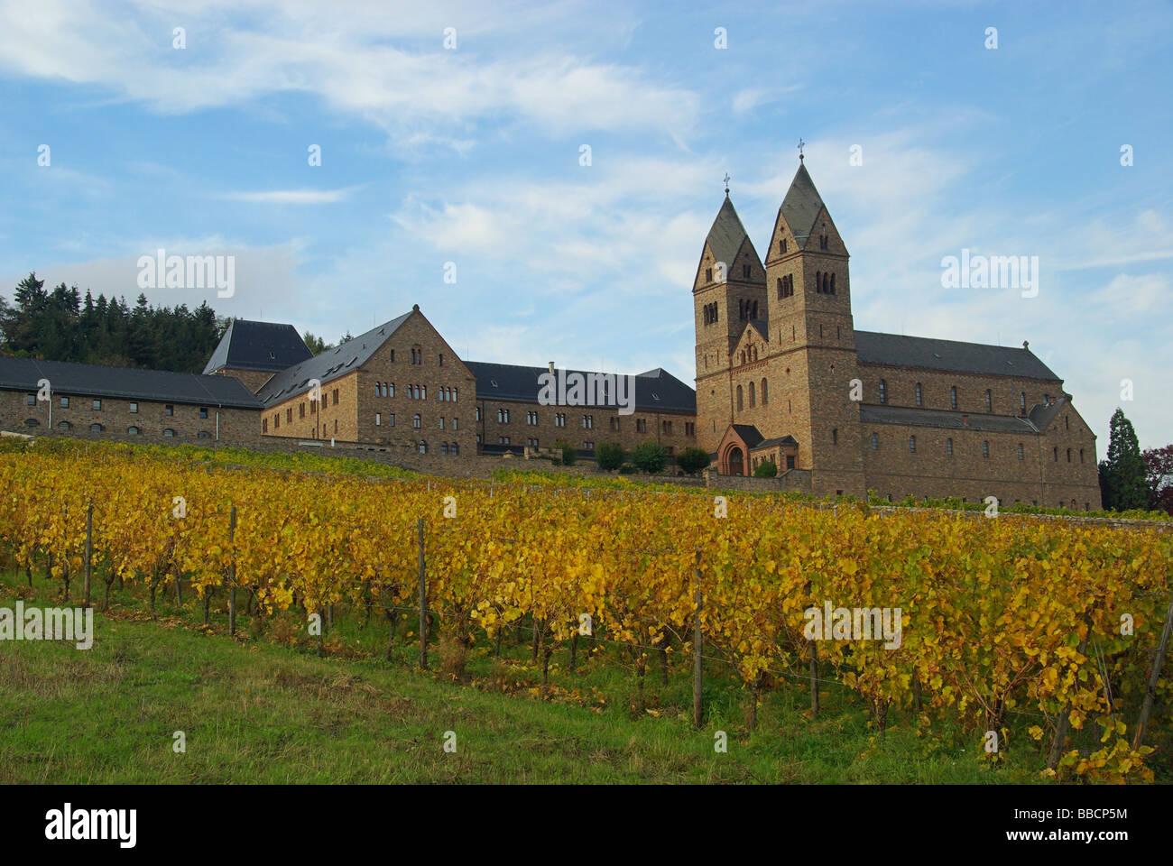 Rüdesheim-Abtei St. Hildegard Rüdesheim Eibingen Abtei 10 Stockbild