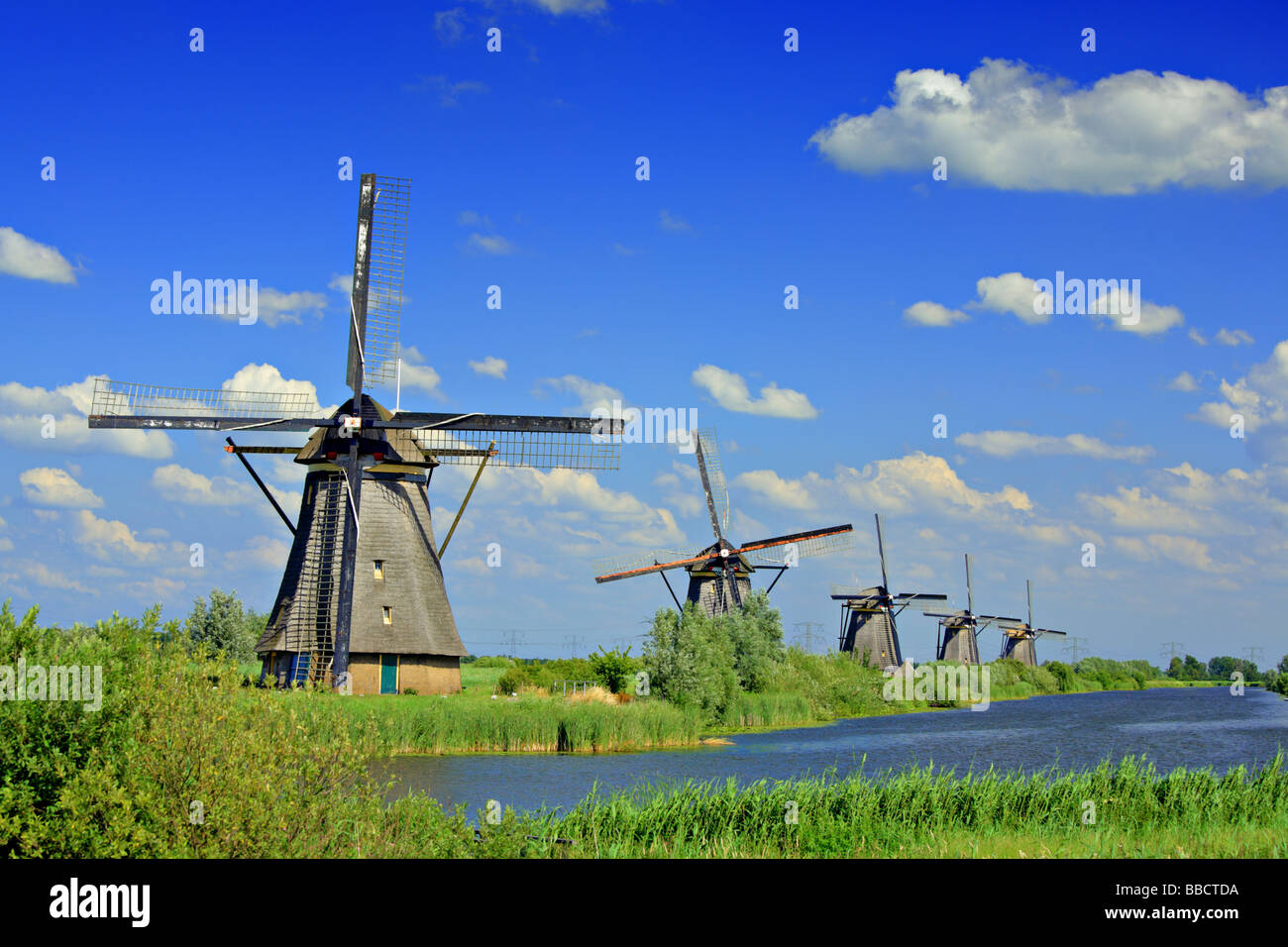 windm hle in kinderdijk holland stockfoto bild 24254198 alamy. Black Bedroom Furniture Sets. Home Design Ideas