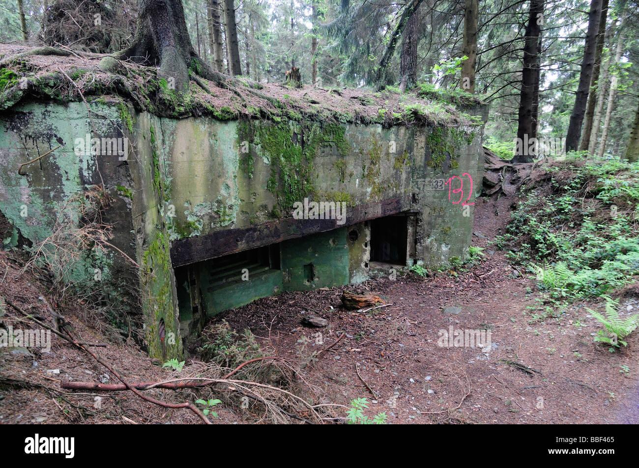 siegfried linie deutsche bunker im huertgenwald wald. Black Bedroom Furniture Sets. Home Design Ideas