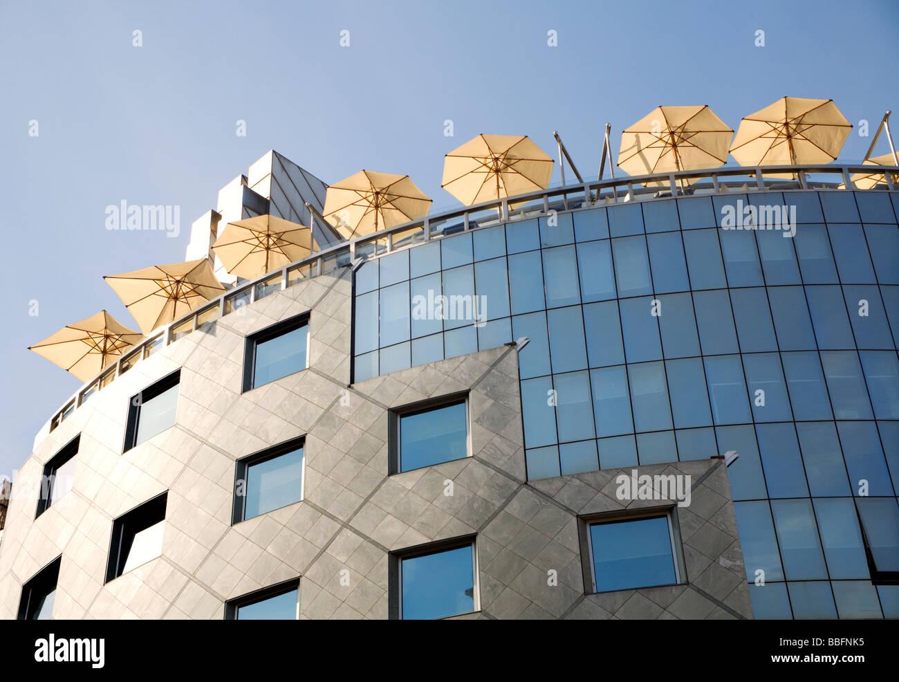Wien - moderne Architektur Stockfoto