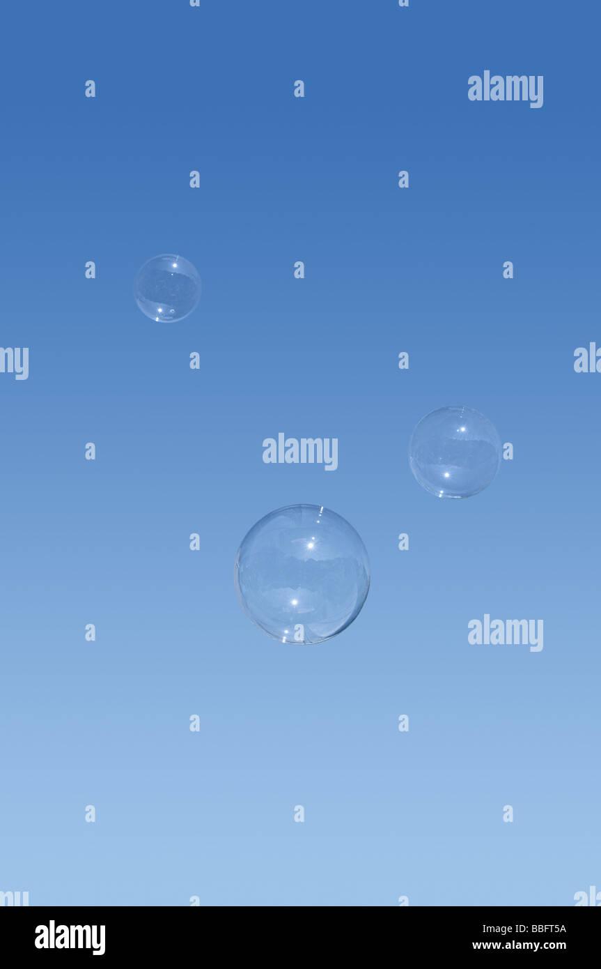 Bubbles Stockbild