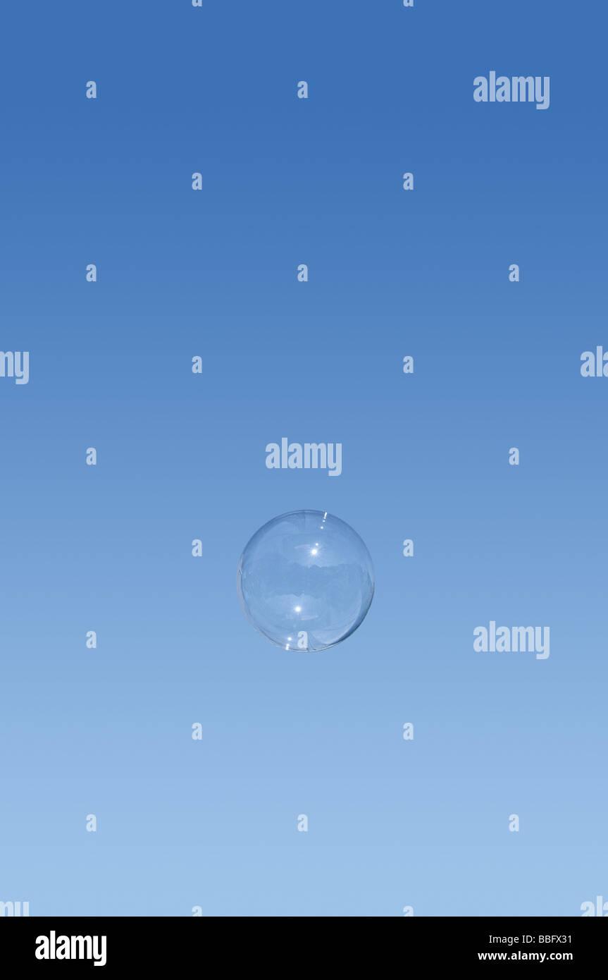 Schwimmenden Blase Stockbild