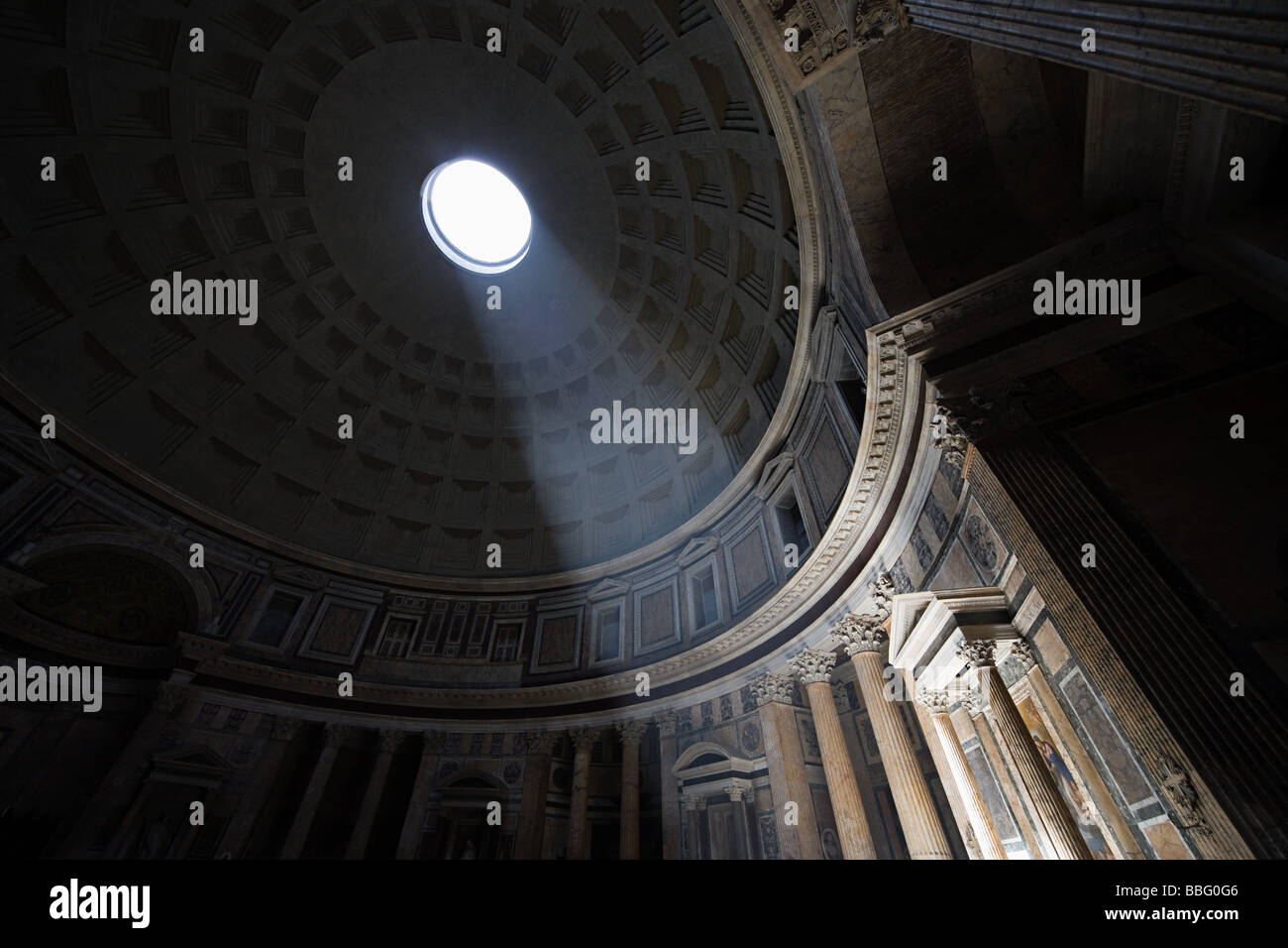 Pantheon Rom Stockbild