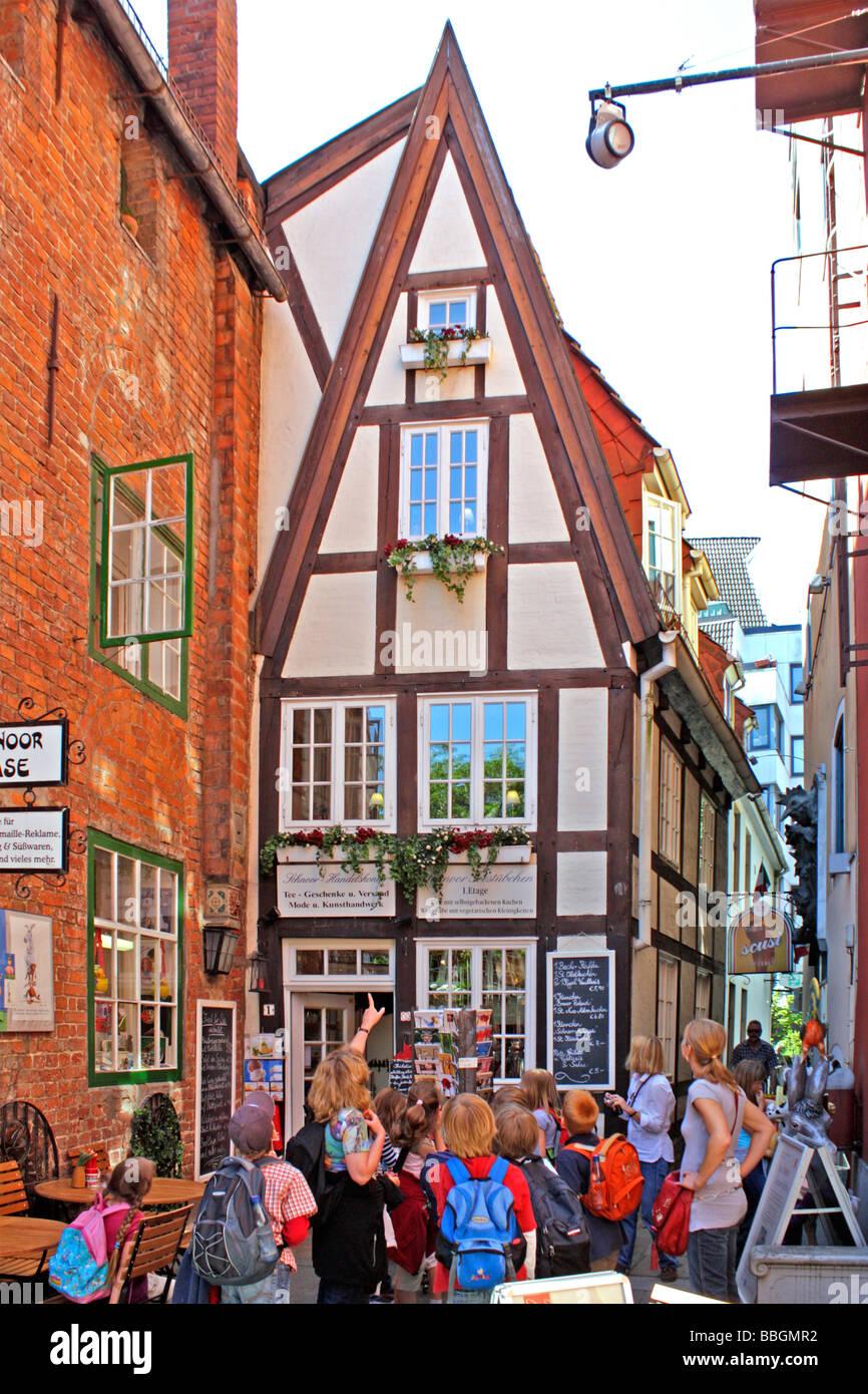 Holzhaus Bremen kleines holzhaus im schnoorviertel bremen norddeutschland