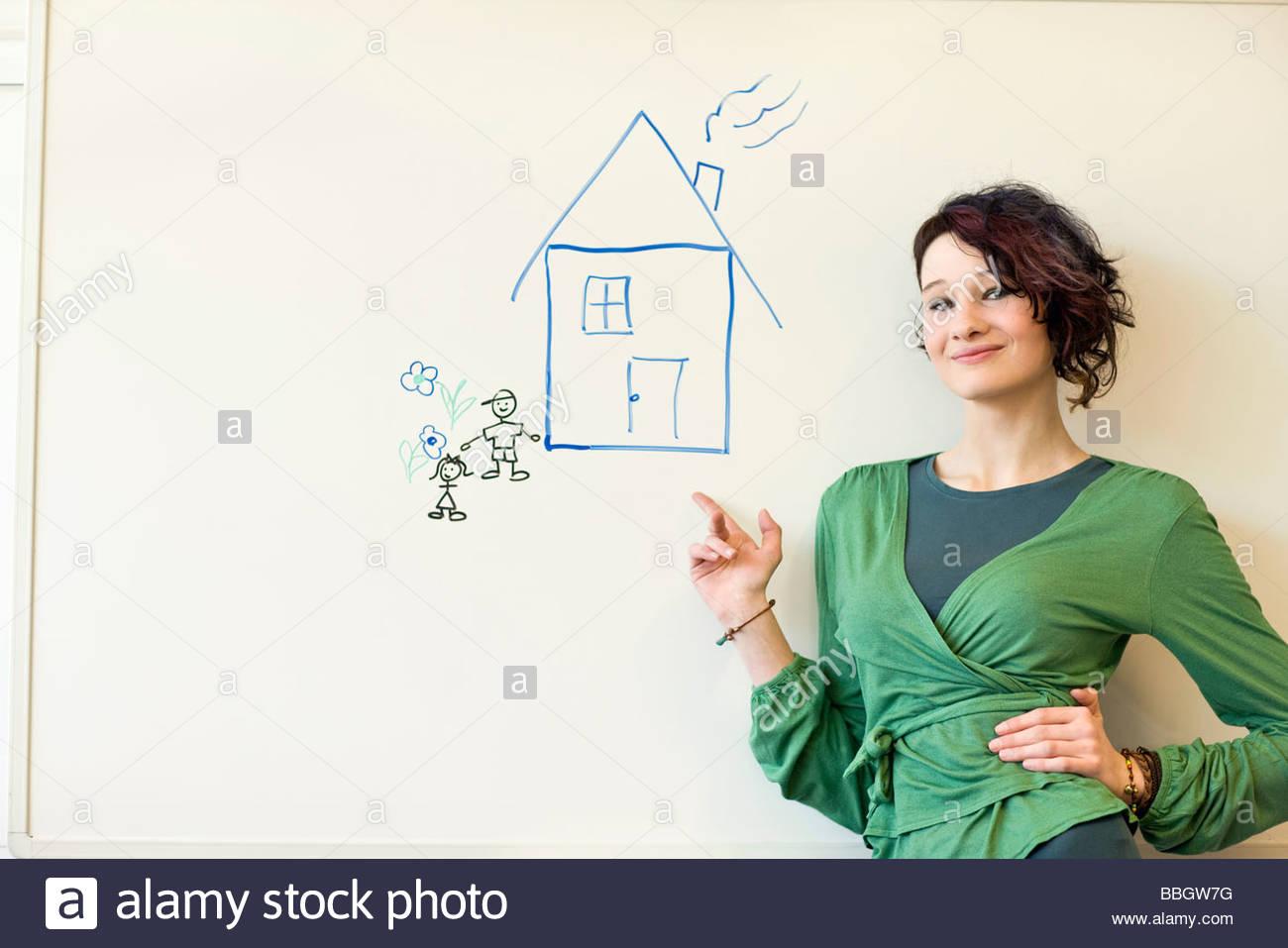 Teenager im Haus
